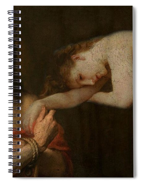 Arms Of Mary  Spiral Notebook