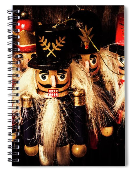 Army Of Wooden Soldiers Spiral Notebook
