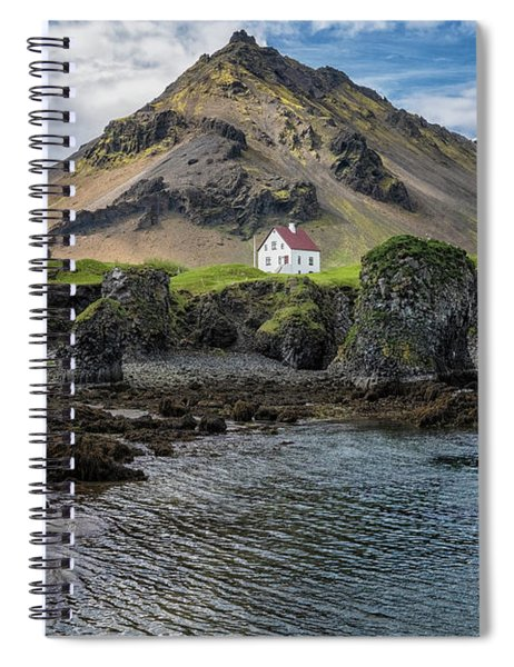 Arnarstapi House Spiral Notebook