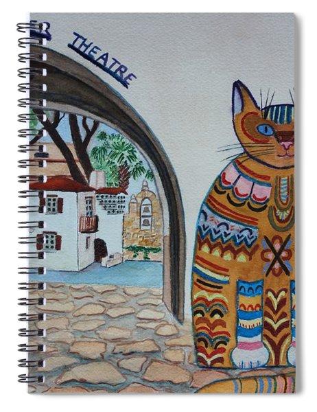 Arneson Theatre Cat Spiral Notebook