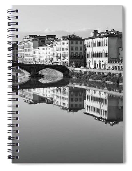 Arno Reflections 1 Spiral Notebook
