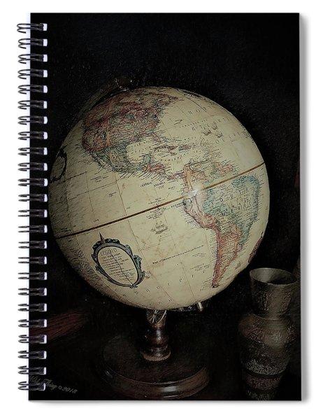 Around The World Spiral Notebook