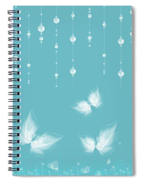 Art En Blanc - S11a Spiral Notebook