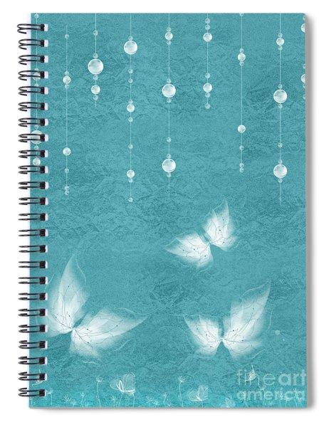 Art En Blanc - S11bt01 Spiral Notebook