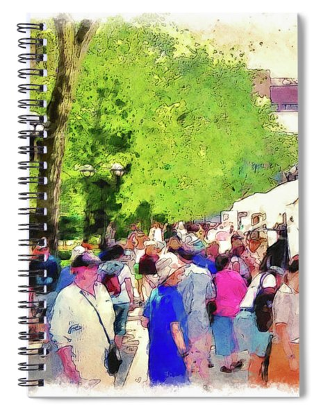 Art Fair In Ann Arbor Spiral Notebook