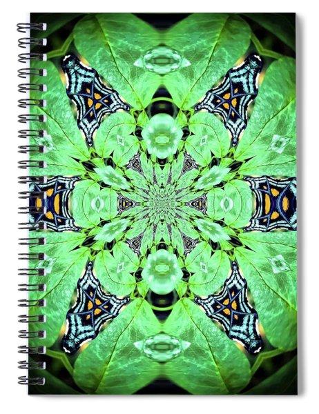 Art In Nature Spiral Notebook