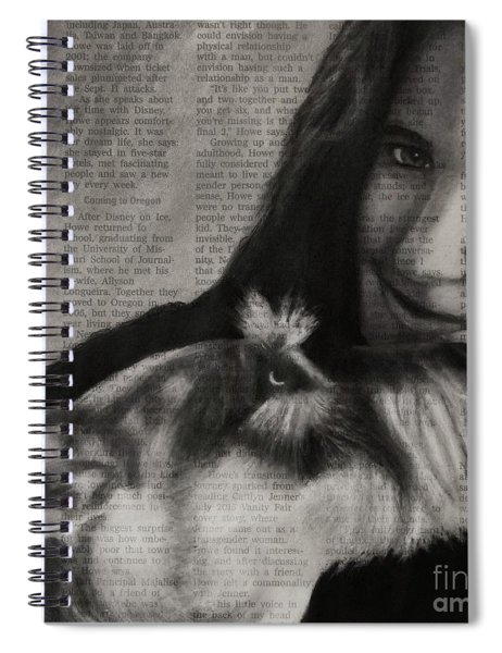 Art In The News 137-rocky And Dori Spiral Notebook