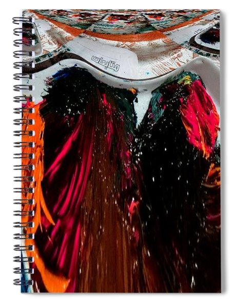 Art News Room Spiral Notebook