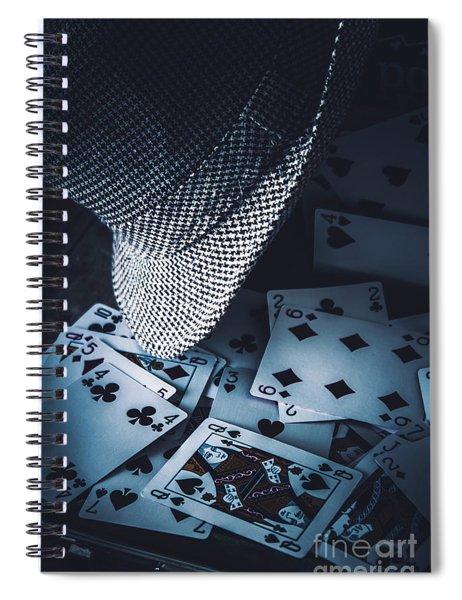 Art Of A Betting Man  Spiral Notebook