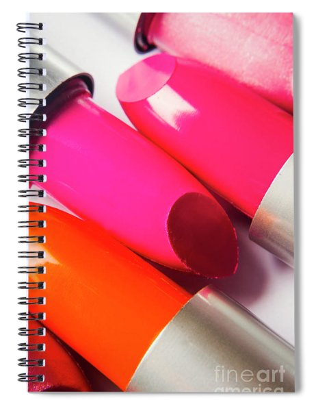Art Of Beauty Products Spiral Notebook