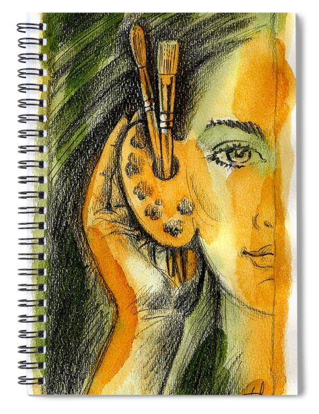 Art Of Listening Spiral Notebook