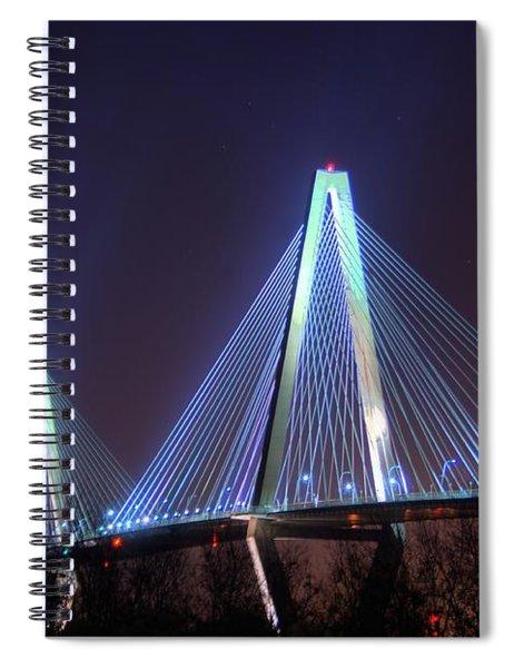 Arthur Ravenel Bridge Spiral Notebook