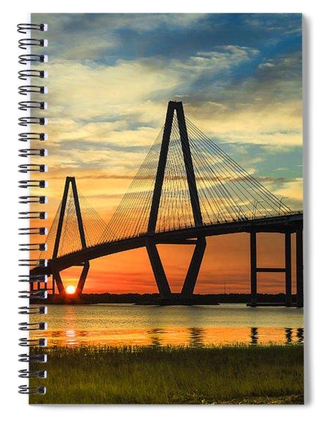 Arthur Ravenel Jr. Bridge - Charleston Sc Spiral Notebook