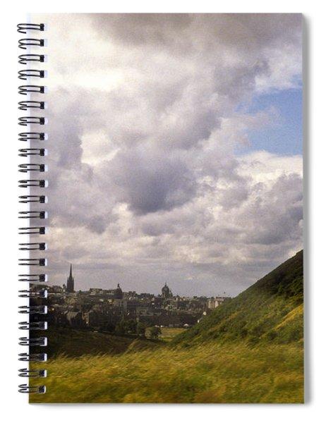 Arthurs Seat Edinburgh Spiral Notebook