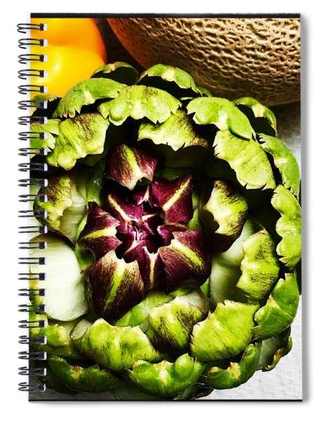 Artichoke Circle Spiral Notebook