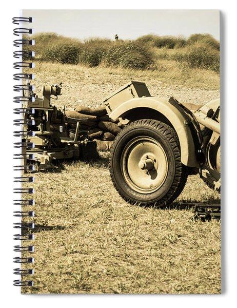 Artillery Spiral Notebook