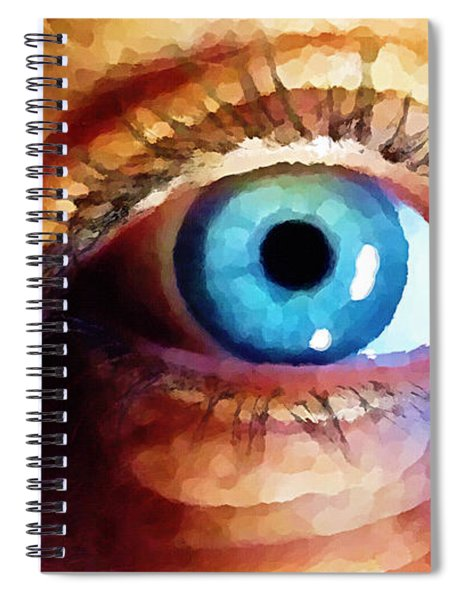 Artist Eye View Spiral Notebook