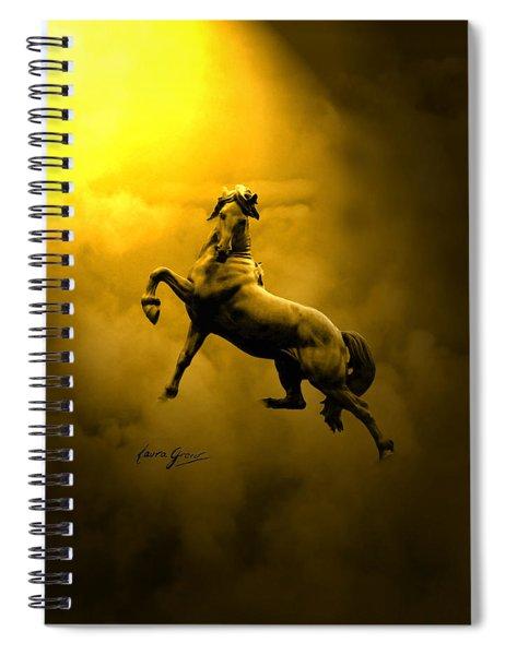 Artist In Heaven  Spiral Notebook
