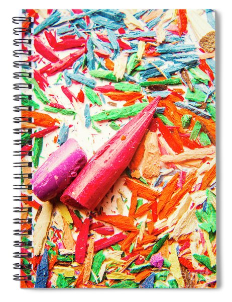 Artistic Disruption Spiral Notebook