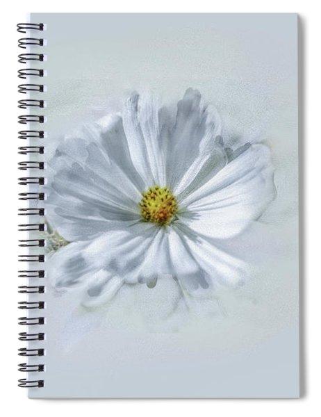 Artistic White #g1 Spiral Notebook