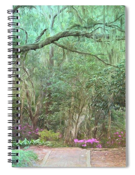 Artistry Of Ravine Gardens Spiral Notebook