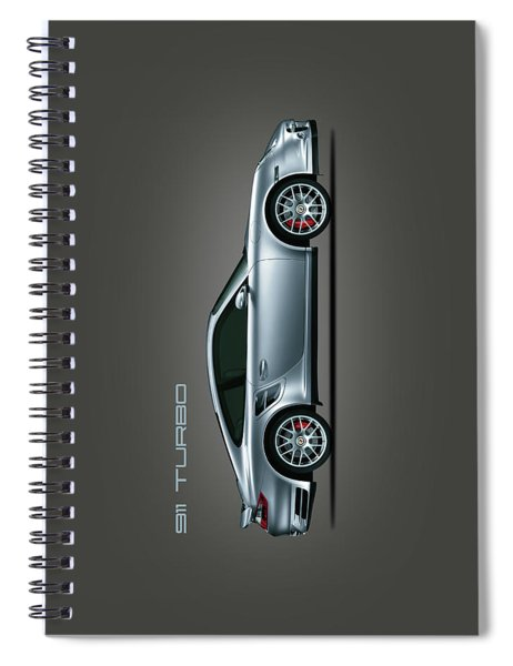Porsche 911 Turbo Spiral Notebook