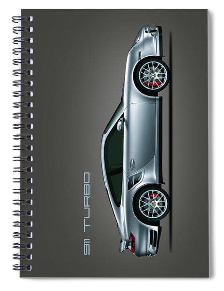 Porsche 911 Turbo Spiral Notebook