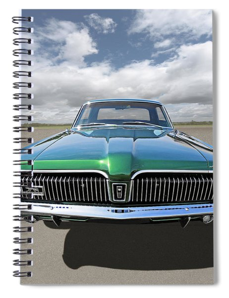 Green With Envy - 68 Mercury Spiral Notebook