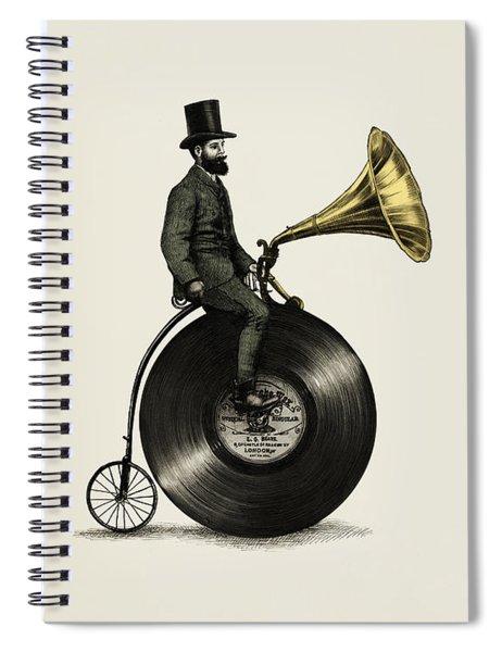 Music Man Spiral Notebook