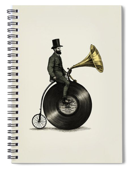 Music Man Spiral Notebook by Eric Fan