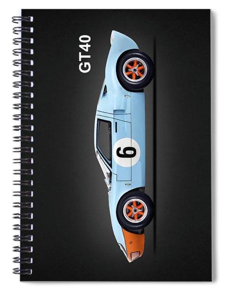 The Gt40 Spiral Notebook