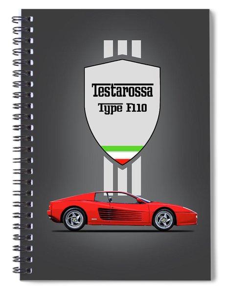 The Ferrari Testarossa Spiral Notebook