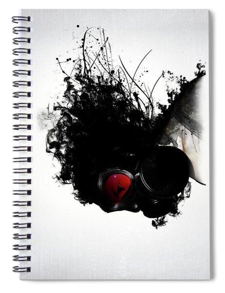 Ghost Warrior Spiral Notebook