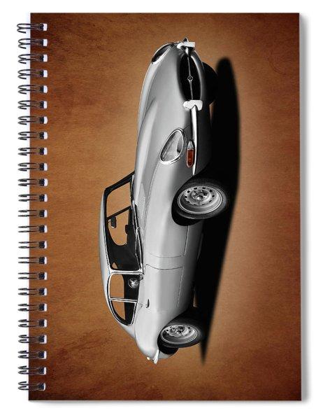 Jaguar E-type Series 1 Spiral Notebook