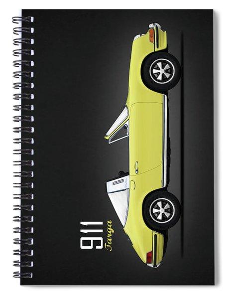 Porsche 911 Targa Spiral Notebook