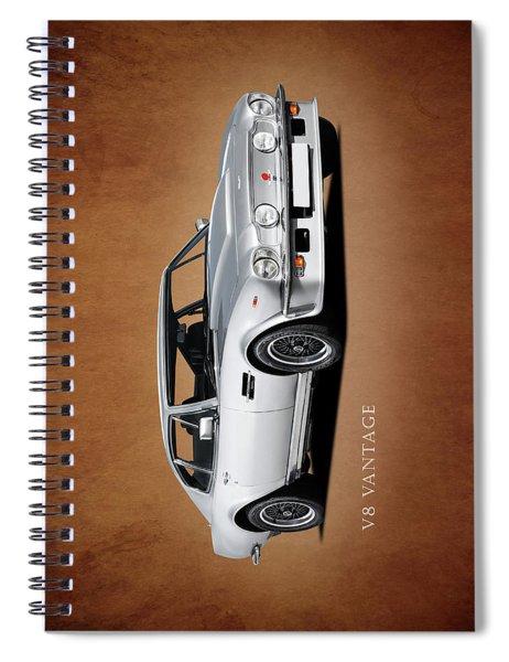 V8 Vantage Spiral Notebook