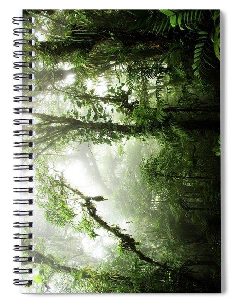 Cloud Forest Spiral Notebook