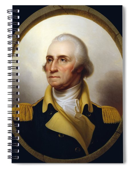 General Washington - Porthole Portrait  Spiral Notebook