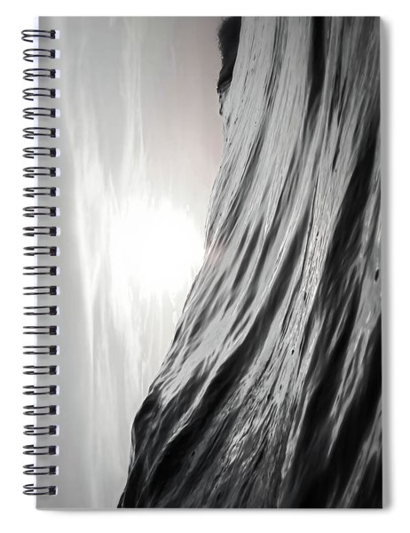 Motion Of Water Spiral Notebook