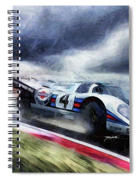 917 Action Spiral Notebook