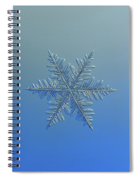 Snowflake Photo - Winter Is Coming Spiral Notebook