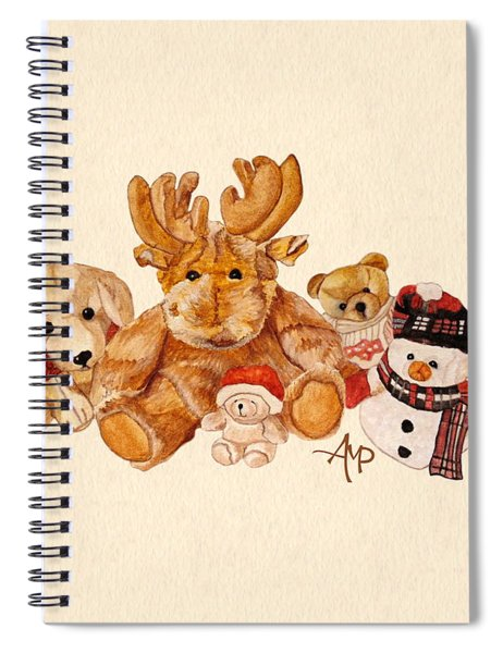 Snowy Patrol Spiral Notebook