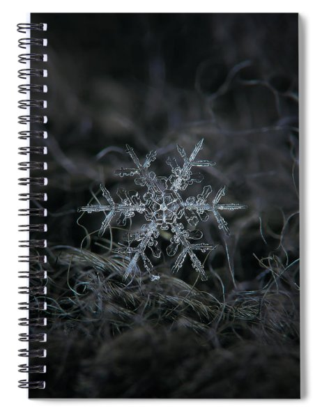 Snowflake 2 Of 19 March 2013 Spiral Notebook