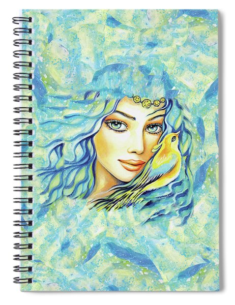 Bird Of Secrets Spiral Notebook