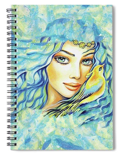 Bird Of Secrets Spiral Notebook