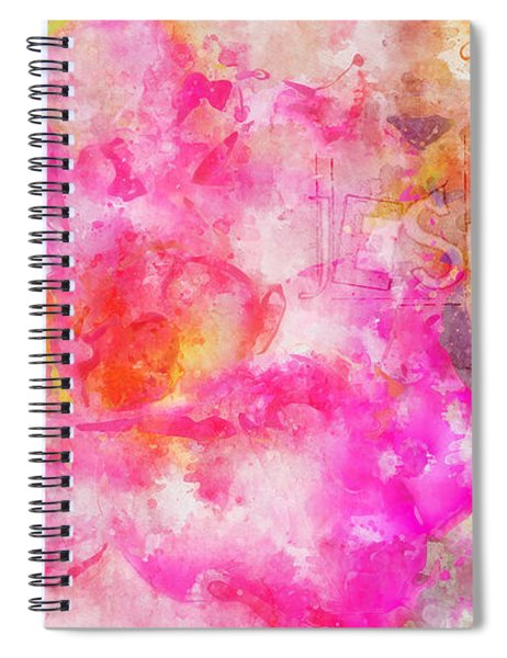 Hebrews 13 Let Brotherly Love Continue Spiral Notebook