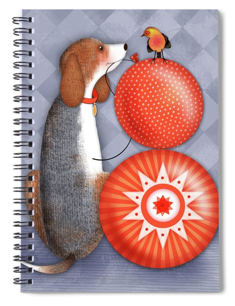 B Is For Beagle Spiral Notebook