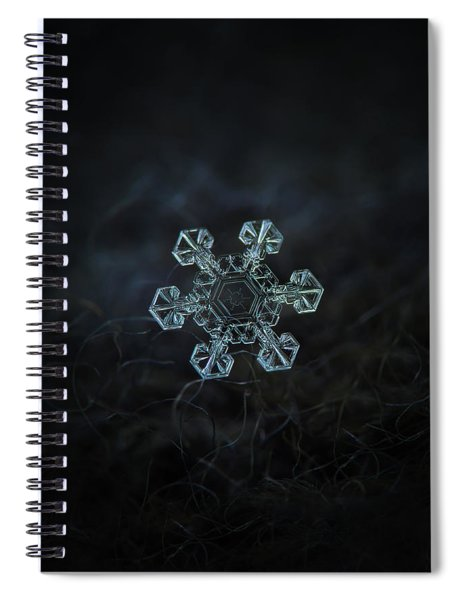 Real Snowflake - Ice Crown New Spiral Notebook