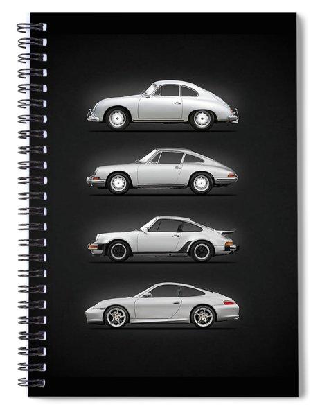 Evolution Of The 911 Spiral Notebook