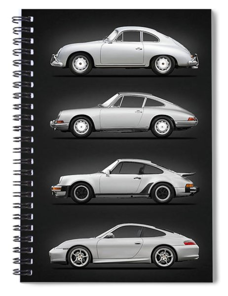 Evolution Of The 911 Spiral Notebook